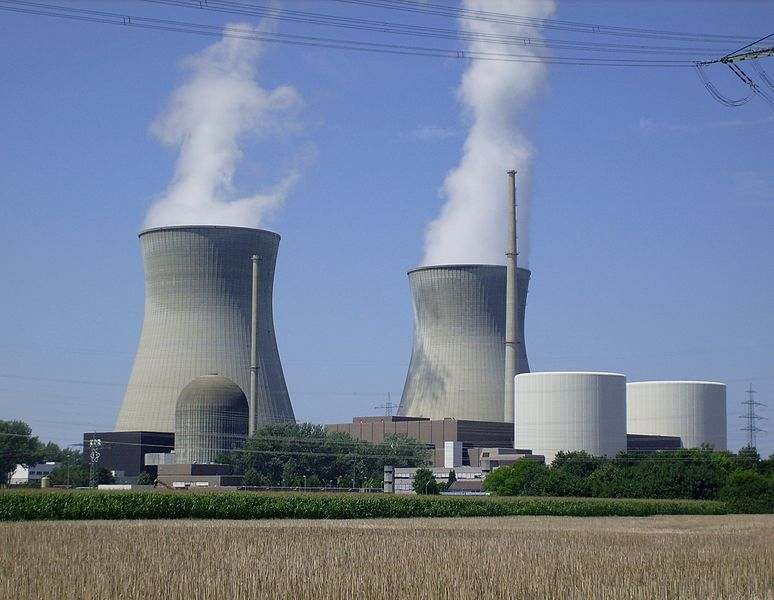 nhà máy điện hạt nhân của Đức
