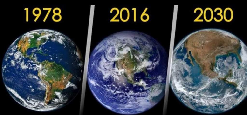 trái đất nằm 2030