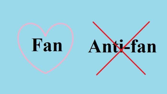 antifan là gì? tại sao họ lại anti